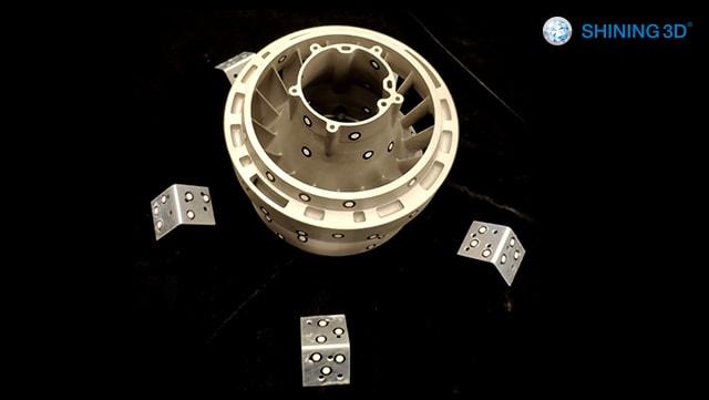 3Д сканування об'єкта складної форми