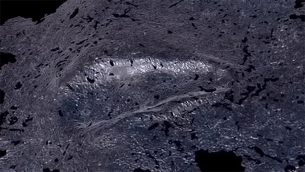 3D data of footprints