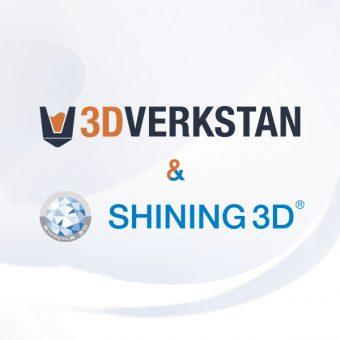 SHINING 3D and 3DVerkstan announce cooperation in Scandinavia & Baltics